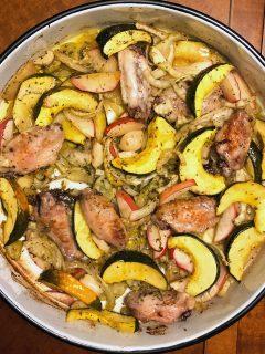 Acorn Squash With Chicken Fennel66