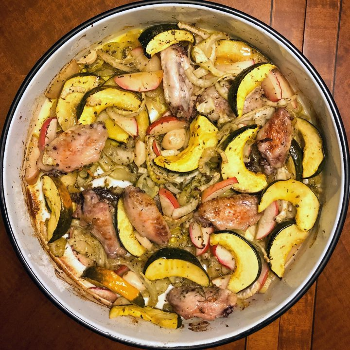 Acorn Squash With Chicken Fennel66