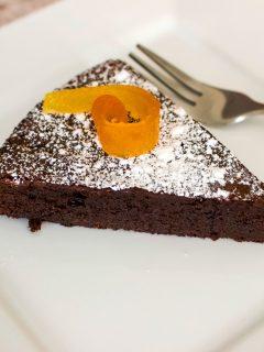 Easy Flourless Chocolate Cake Gluten Free Recipe0