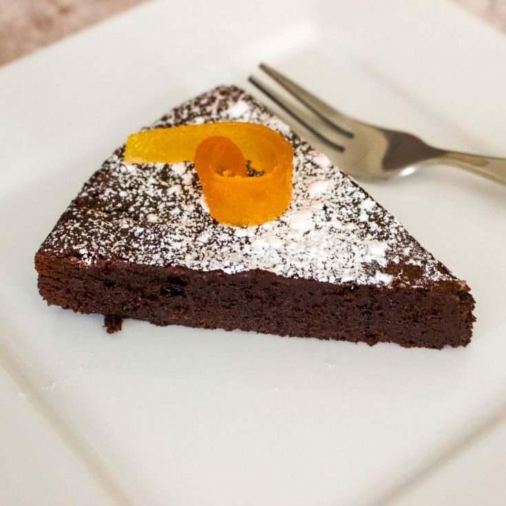 Easy Flourless Chocolate Cake- Gluten Free Recipe