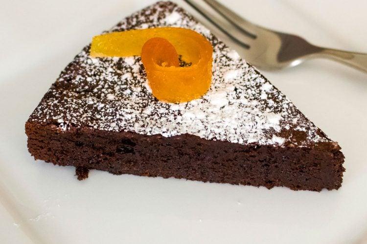 Easy Flourless Chocolate Cake- Gluten Free Recipe