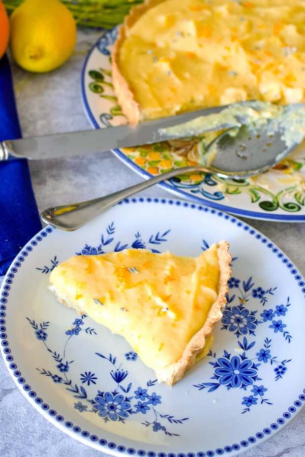 This Easy Lavender Citrus Curd Pie is a recipe that uses three different types of citrus . You can make it anytime you crave the warmth of the sun. Perfect for any occasion and any season.