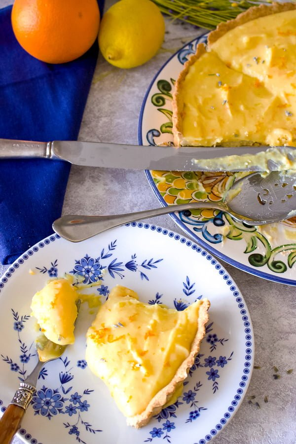 Easy Lavender Citrus Curd Pie88