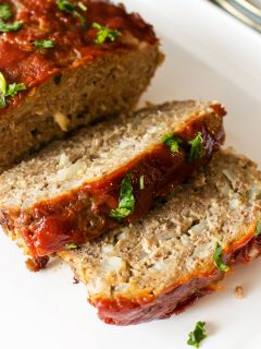 Old Fashioned Meatloaf With Oats Midwest Style55