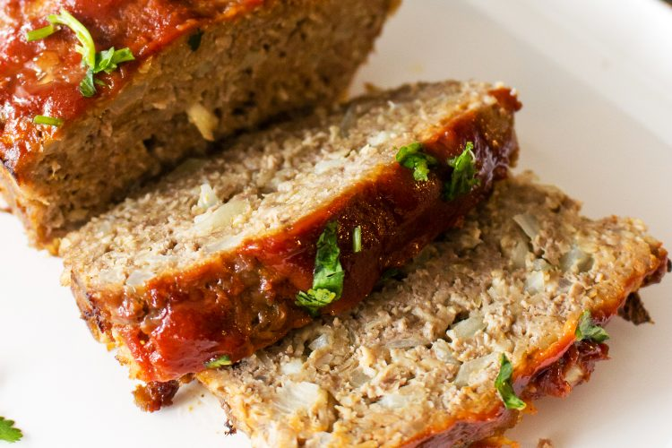 Old Fashioned Meatloaf With Oats- Midwest Style