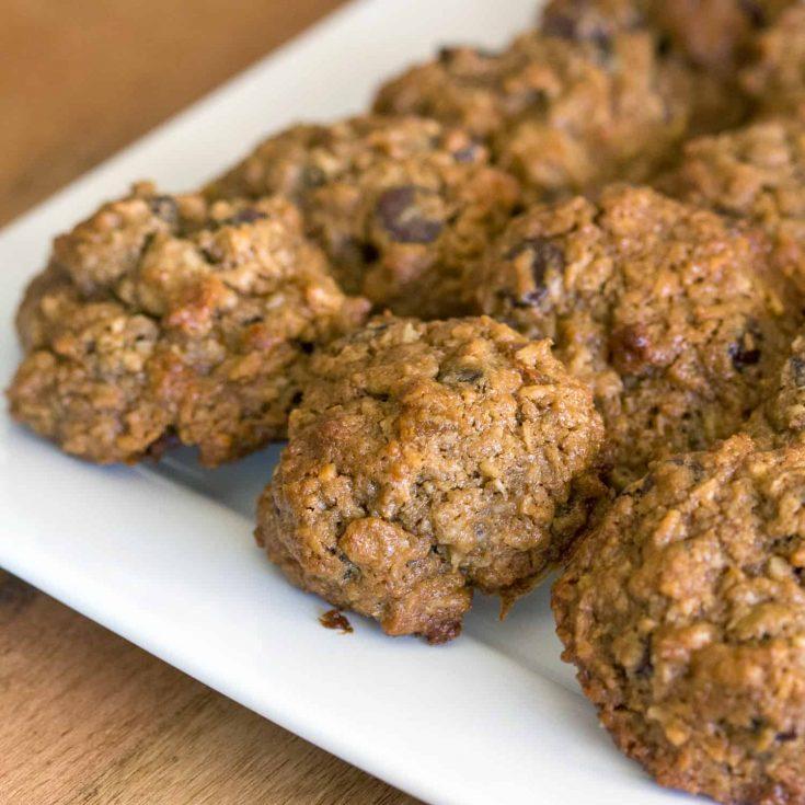 Trail Mix Cookies- Vegetarian, Gluten Free Recipe