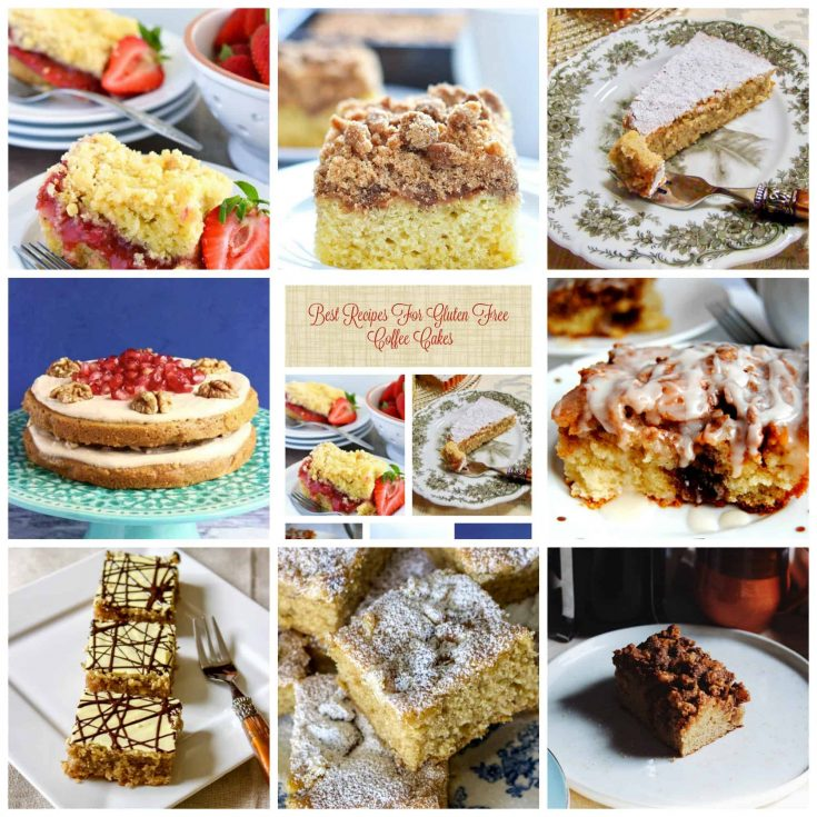 Best Recipes For Gluten Free Coffee Cakes