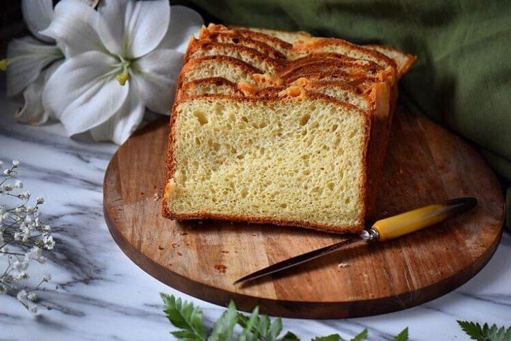 Crescia al Formaggio aka Italian Easter Bread