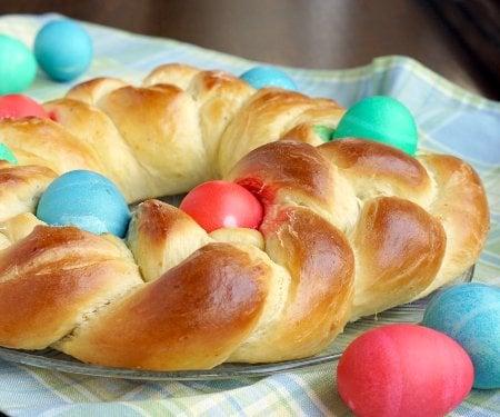 Pane di Pasqua (Italian Easter Bread) • Curious Cuisiniere