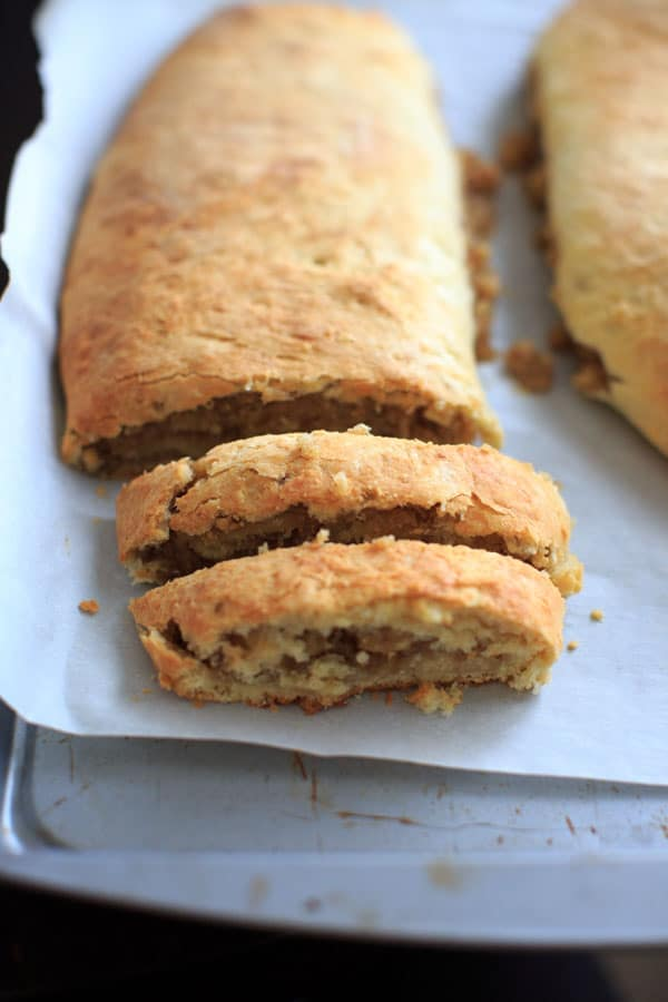 Nana's Potica - Slovenian nut roll for Easter and Christmas