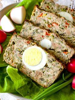 Romanian Easter Meatloaf88