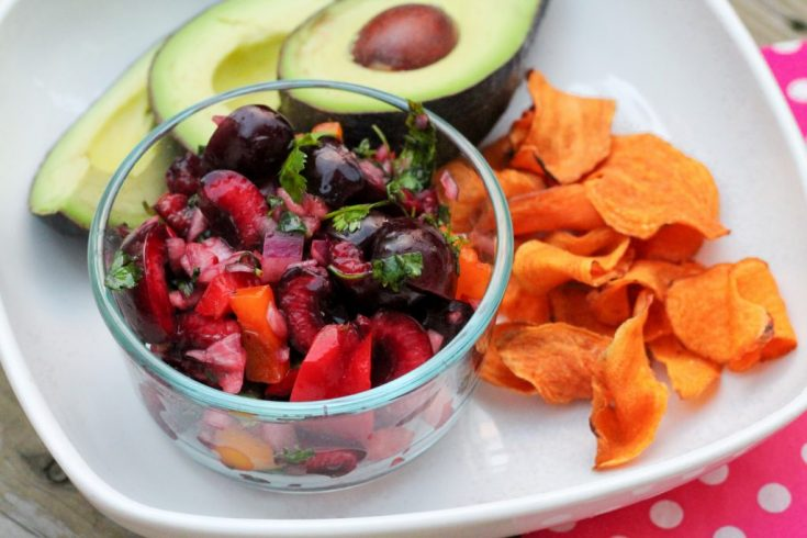 Paleo Cherry Salsa ---------------- The Primal Desire