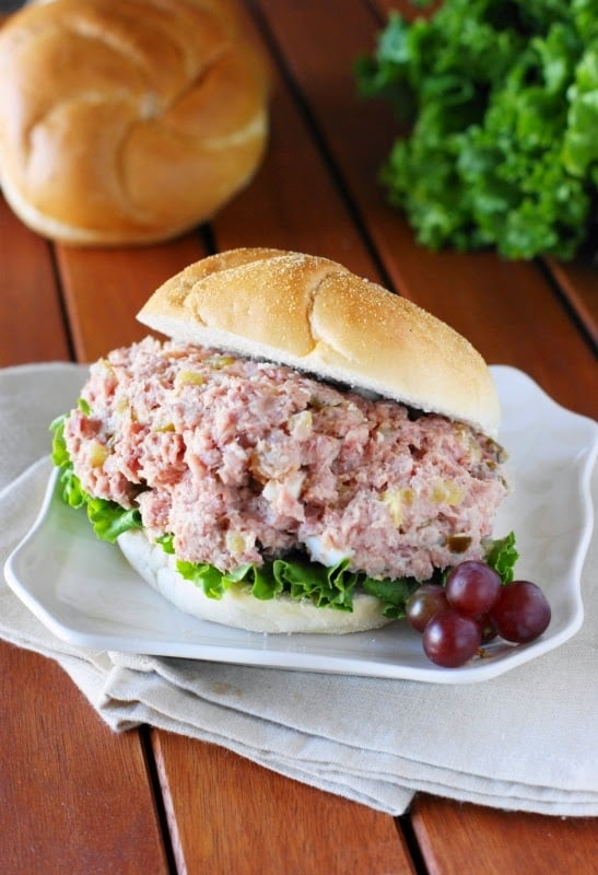 Ham Leftovers? ~ Make Ham Salad!