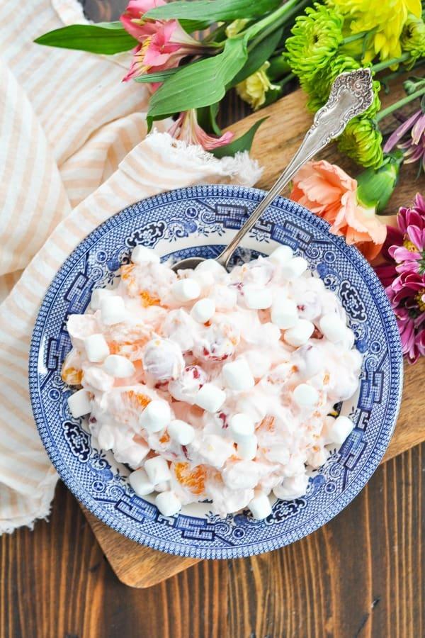 Pink Ambrosia Salad