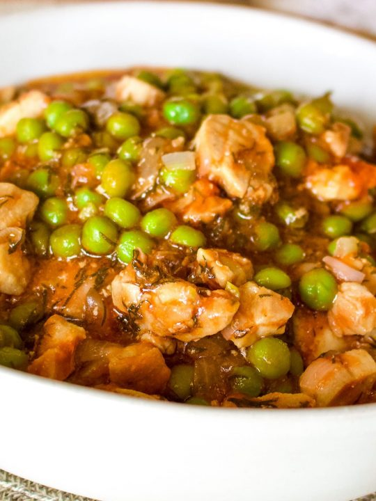Pork And Peas Stew0