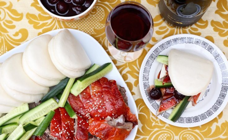 Easiest Easter Lunch Ever – Chinese Roast Duck Bao with Cherry Sauce