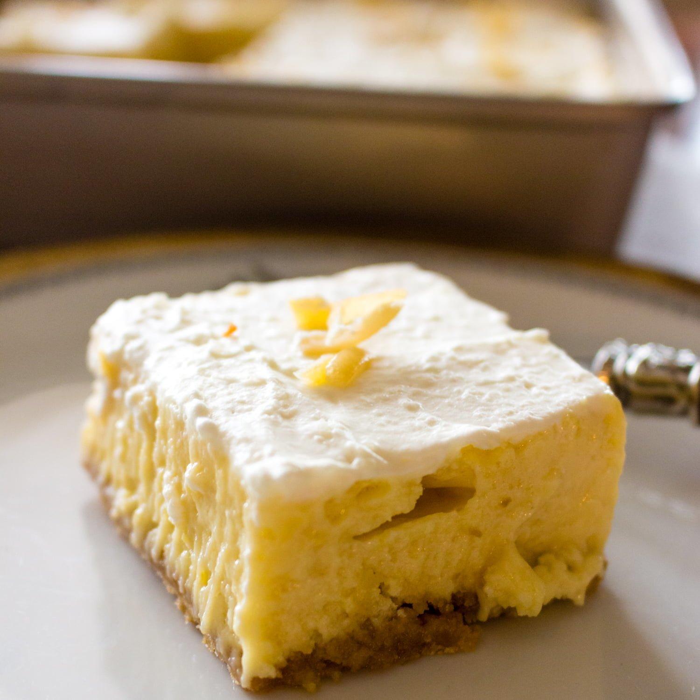 Easy Creamy Lemon Bars