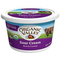 Organic Valley Organic Sour Cream, 16 Ounce -- 6 per case.