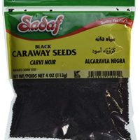 Sadaf Black Caraway Seeds, 4 Ounce Bag