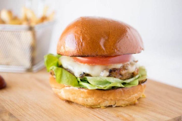 Chipotle Chicken Burger