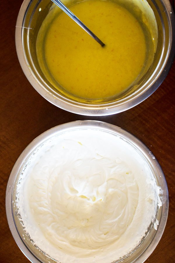 No Bake Orange Mousse Cake- ingredients