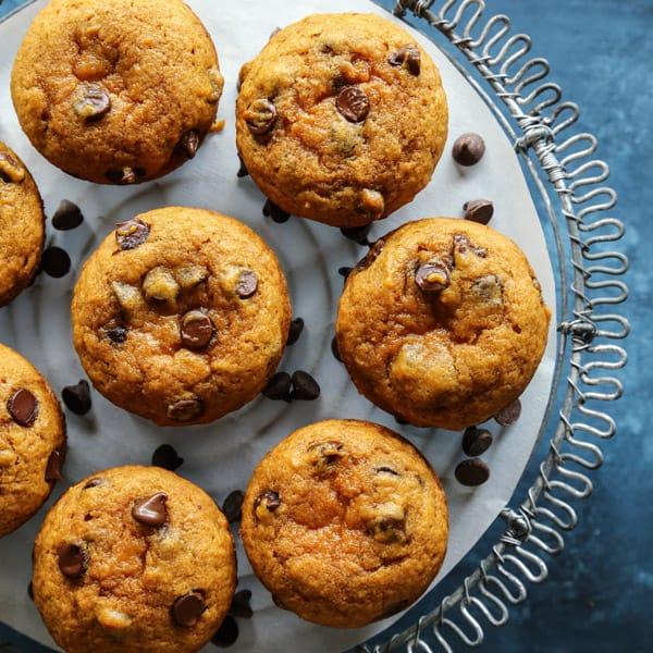Pumpkin Chocolate Chip Muffins • a farmgirl's dabbles