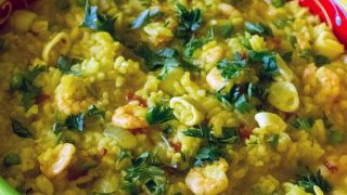 Easy Yellow Rice With Seafood22