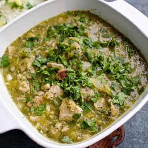 Pork in green sauce77