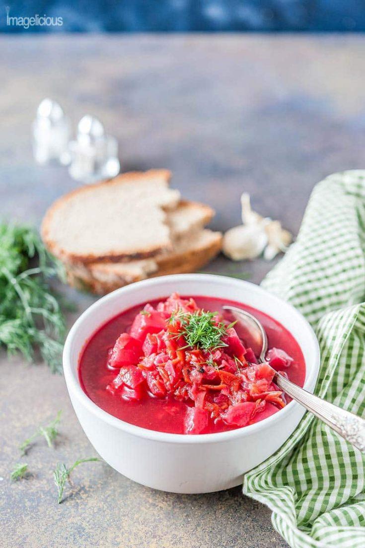 Instant Pot Borscht (vegan and gluten-free)