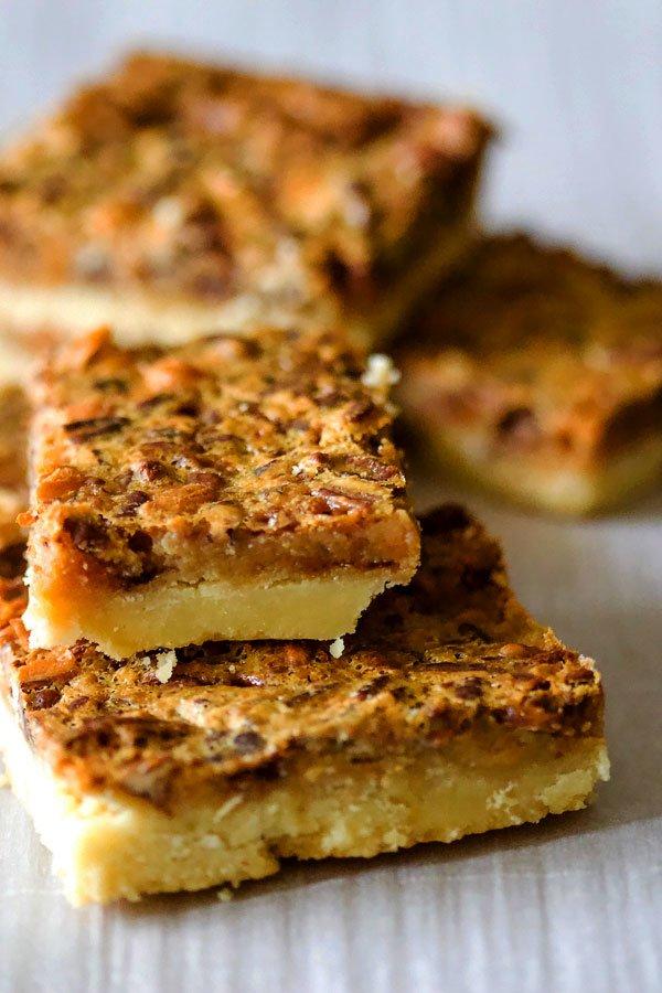 Classic Pecan Pie BarsNo Corn Syrup44