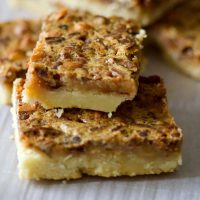 Classic Pecan Pie Bars(No Corn Syrup)