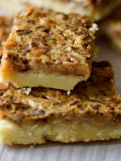 Classic Pecan Pie BarsNo Corn Syrup99