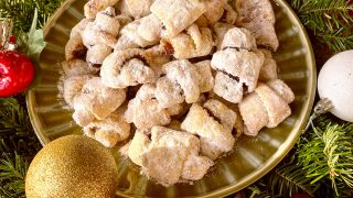 JAM AND WALNUTS RUGELACH on plate square photo1