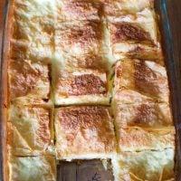 Sweet Cheese Slab Pie