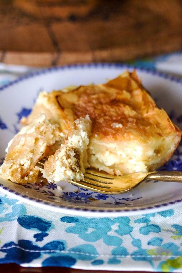 Sweet Cheese slab pie2626