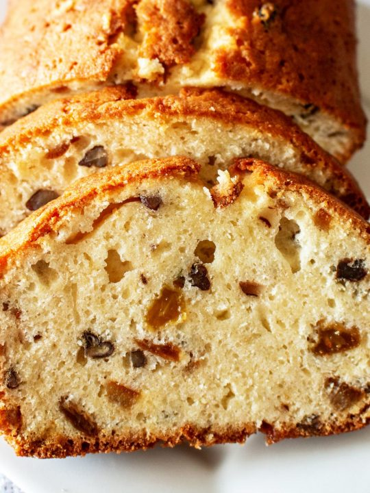 Bishops Bread Made with Egg Whites European Recipe55