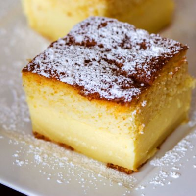 Easy Magic Cake With Vanilla