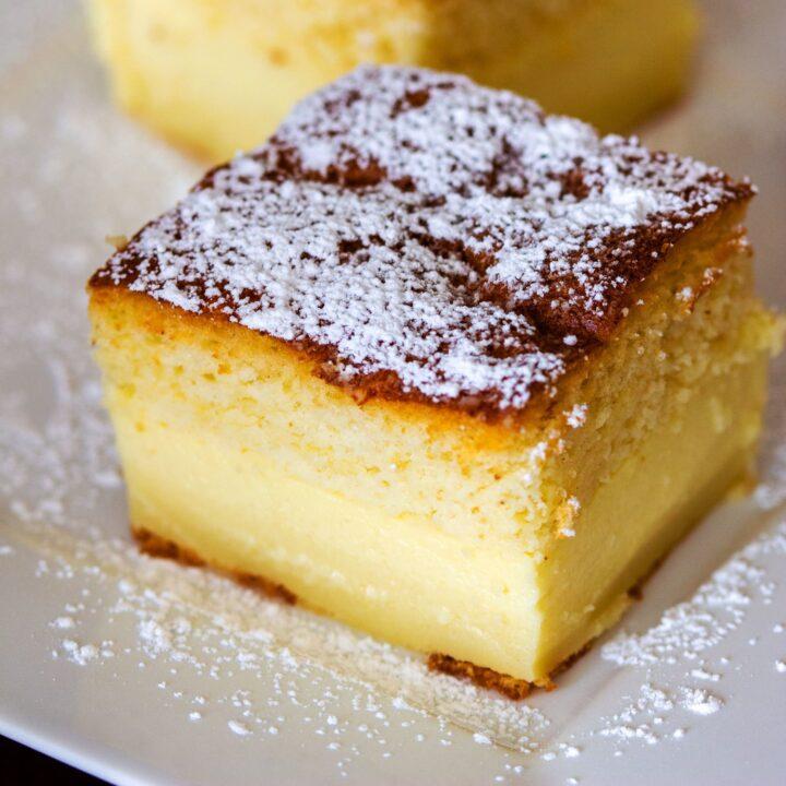 Easy Magic Cake With Vanilla33