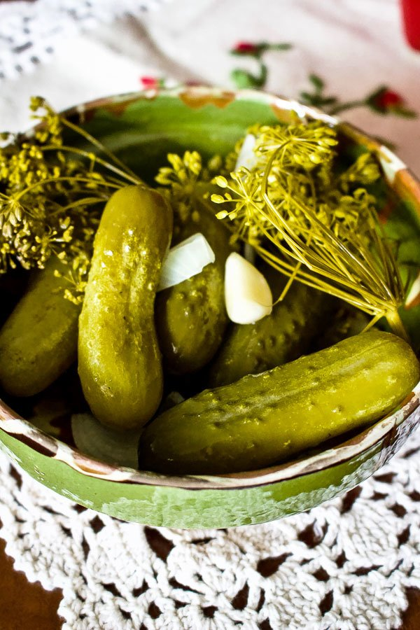 Summer Lacto Fermented Kosher Pickled Cucumbers1919