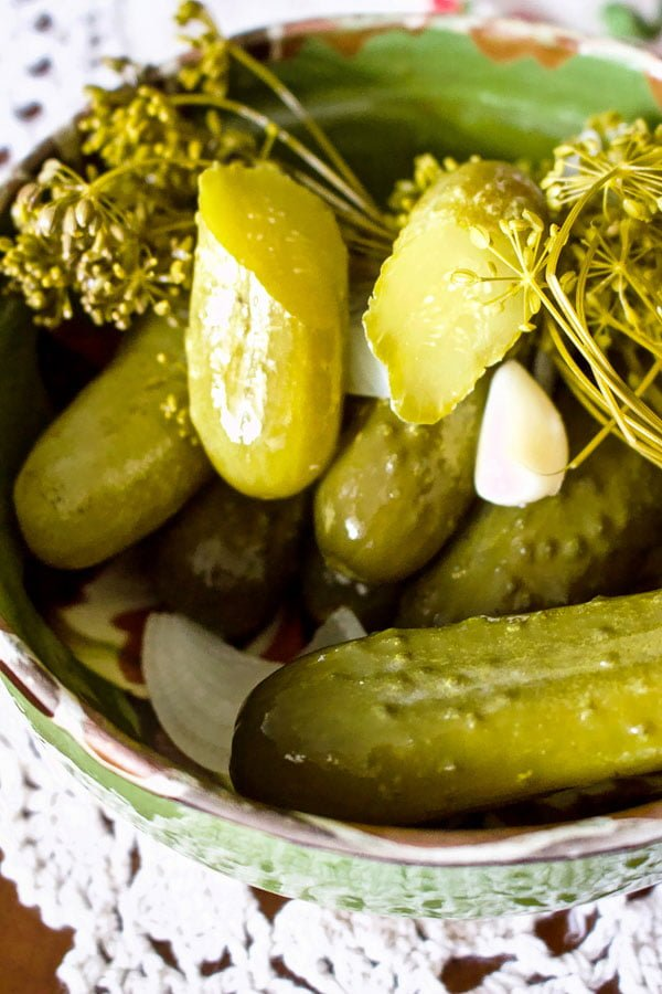 Summer Lacto Fermented Kosher Pickled Cucumbers2121
