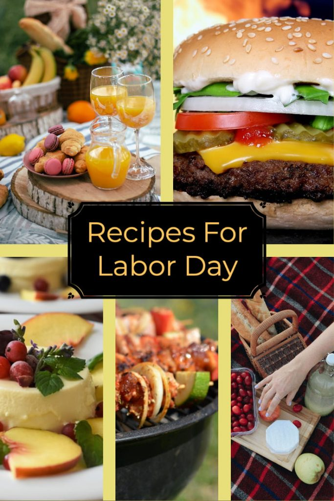 Recipes for Labor Day- Pinterest featured picture