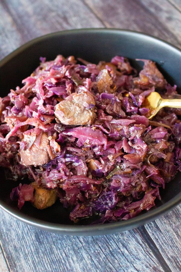 Celtic Red Cabbage With Pork And Red Currant Jelly15