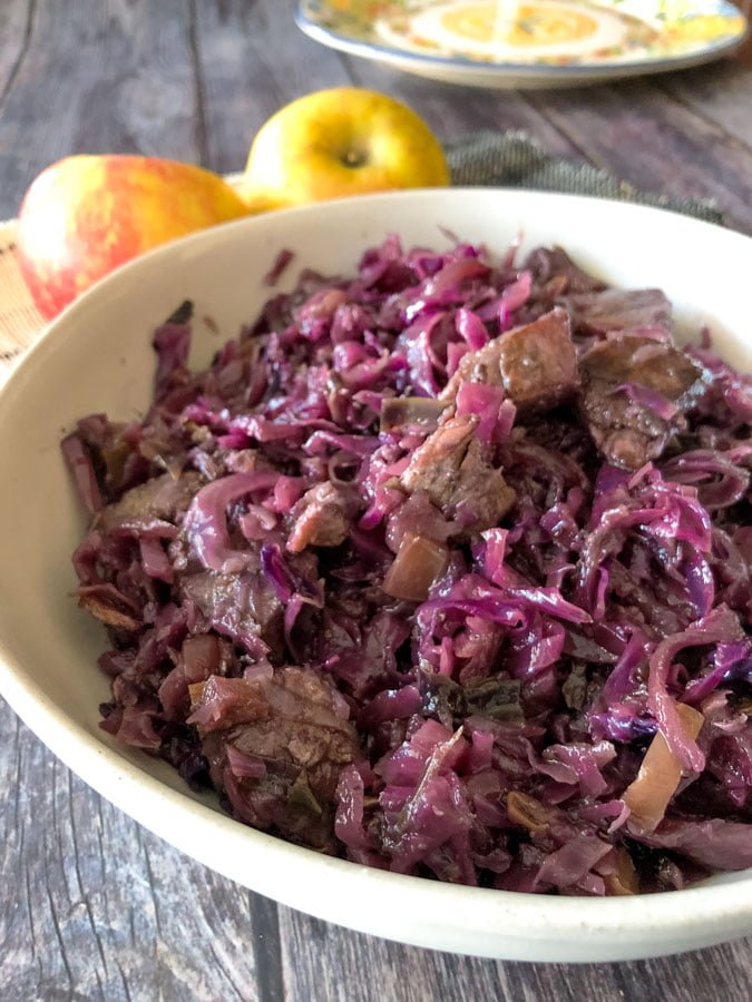 Celtic Red Cabbage With Pork And Red Currant Jelly9