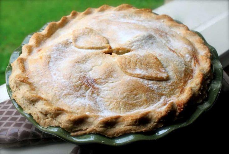 My Favorite (British) Apple Pie