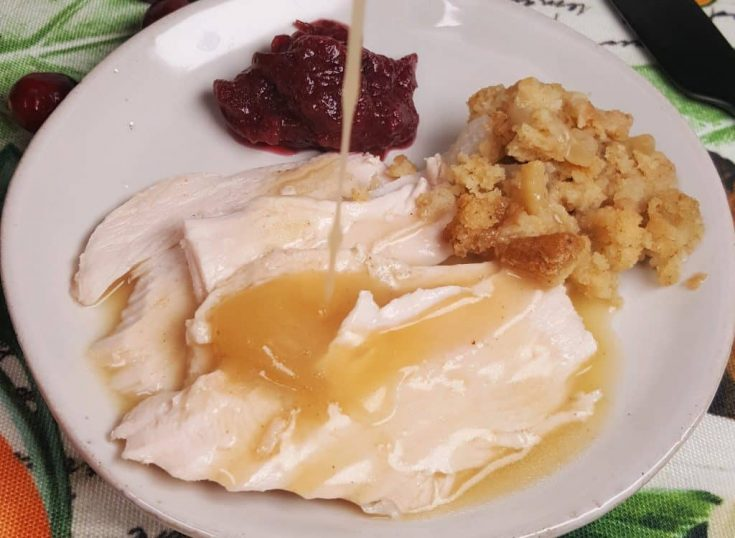 Instant Pot Turkey Breast w/delicious homemade gravy