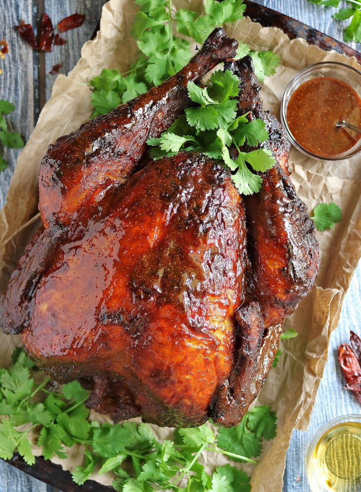 Easy Spicy Honey Glazed Turkey