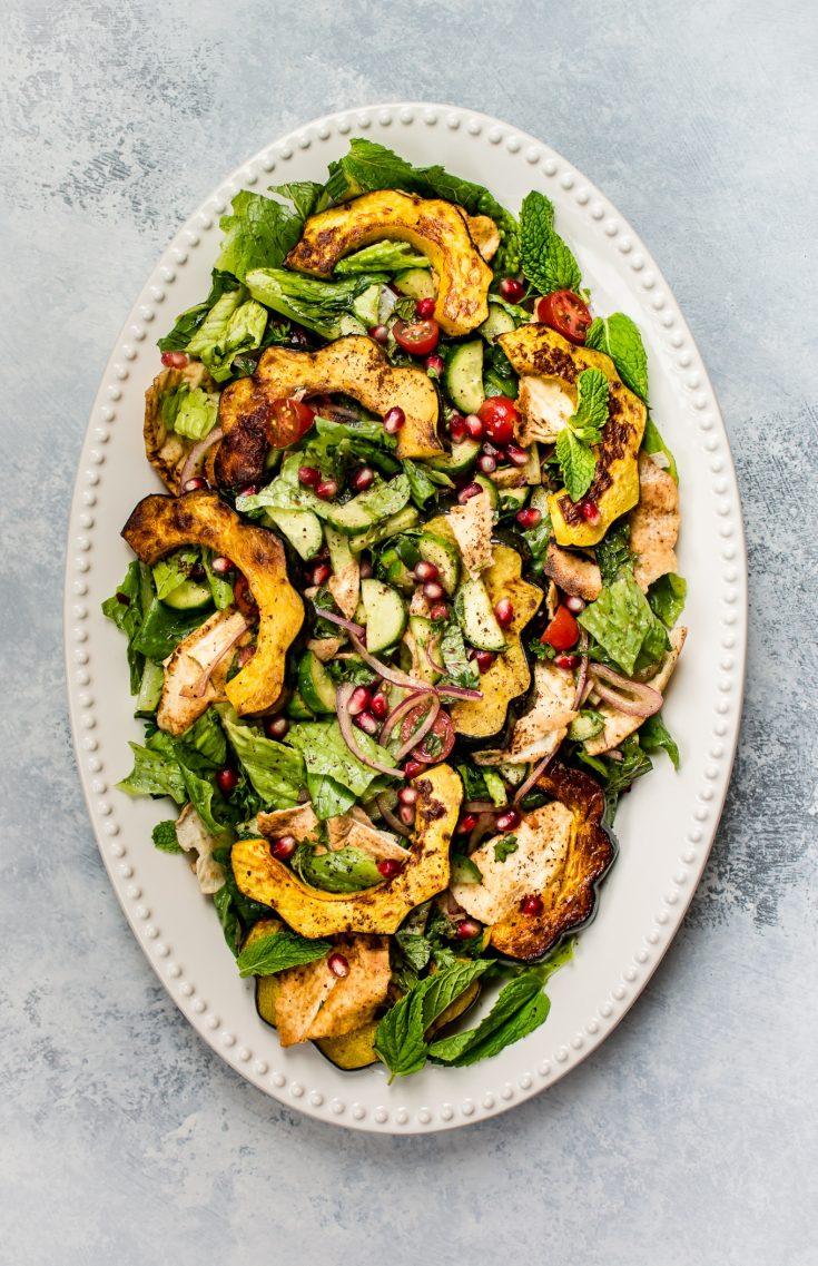 Fall Fattoush Salad Recipe