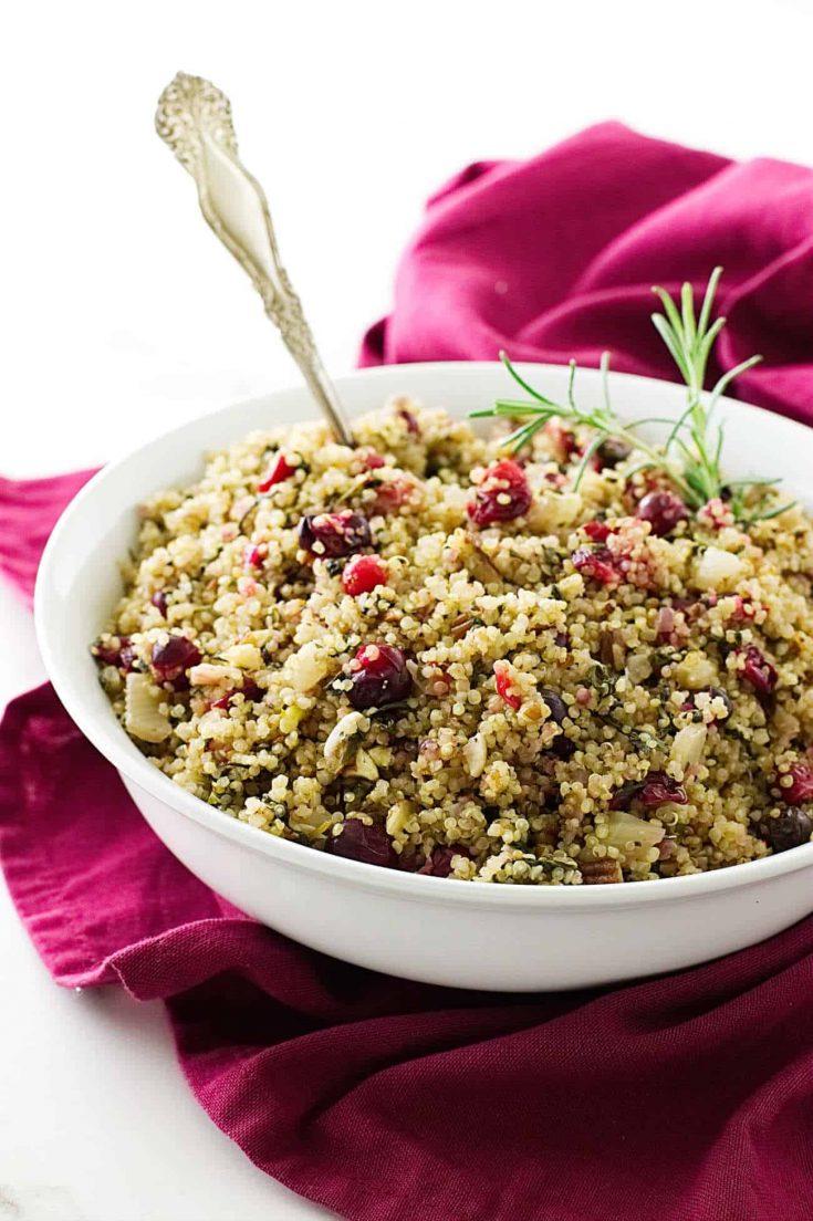 Quinoa-Cranberry Pilaf