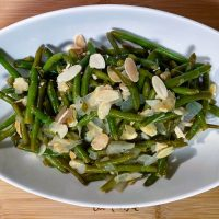 Green Beans Almondine Green Beans with Almonds1111