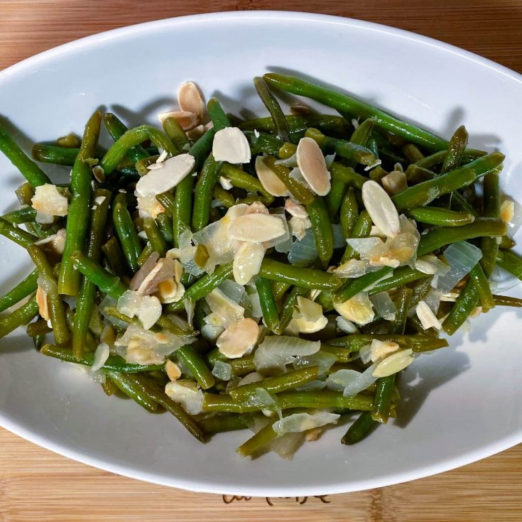 Green Beans Almondine (Green Beans with Almonds)